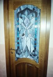 Изготовление дверей в стиле ТИффани.