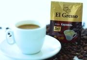 Кофе 3 в 1 «Карамель»  ТМ «El Gresso»