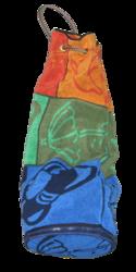 Пляжная сумка-коврик 3в1