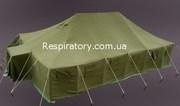 Большие брезентовые палатки УСБ-56 и армейские палатки УСТ-56