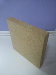 Вермикулитовая плита для изоляции каминов,  топок,  печей,  котлов