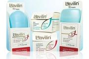 Лавилин крем -дезодорант для тела
