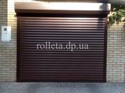 Роллетные ворота Днепр rolleta.dp.ua тканевые роллеты рольставни