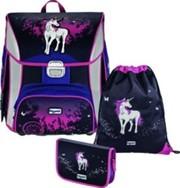 Рюкзак школьный ортопедический Hama Step by Step Unicorn Touch 3в1 за