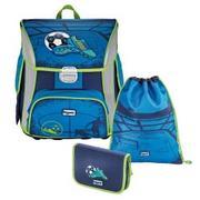 Школьные рюкзаки Hama Step By Step Soccer Blue BaggyMax в наличии 3в1