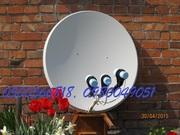 Установка и ремонт спутниковых антенн в Днере (Днепропетровске)