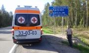 Перевезти больного из Украины в Россию.