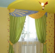 Дизайн и пошив итальянских штор в Днепропетровске