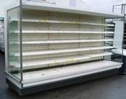 Регалы холодильные б/у из Европы