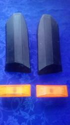 Накладки бампера 2106-2803052, 2106-2803053 и повторитель поворота 2106