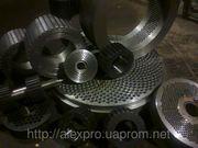 Матрицы для грануляторов плоские и кольцевые обечайки и ролики в сборе