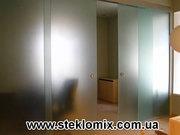 Двери из стекла на заказ,  стеклянные двери от производителя