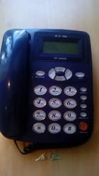 Стационарный телефонный аппарат Hello-Tel HT-333CID с замком
