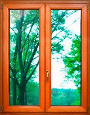 Деревянные окна. Окно стандарт от 6550 грн. Премиум класс.