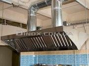 Зонт вытяжной для промышленной кухни