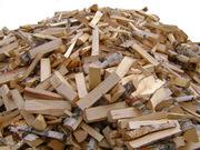 Фруктовые дрова в сетке. Доставка по Украине