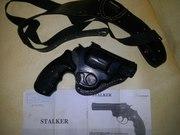 Продам револьвер под патрон флобера с кобурой оперативкой.