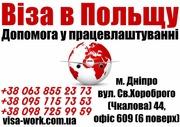 Виза в Польшу. Помощь в трудоустройстве