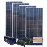 Автономно-резервная солнечная станция 500 Вт