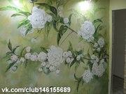 Роспись стен,  художественная реставрация мебели.