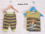 Детский костюм,  Майка,  Бриджи,  Модель № 022. Forever