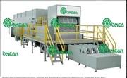 Полная автоматическая линия по производству картонных лотков для яиц 1