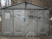 Продам гараж металлический разобранный