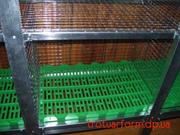Пластиковый настил для кроликов