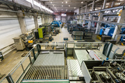 Работники на производство металлических корзин (Польша)