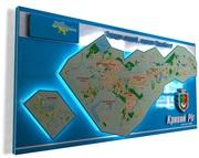 Эксклюзивные многофункциональные географические Карты