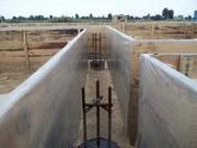 Плёнка полиэтиленовая строительная серая 100 мкм ( 3 м х 100 м.п)