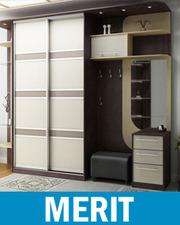 Шкафы-купе на заказ,  мебель по индивидуальному дизайну
