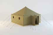 Палатка брезентовая  унифицированная санитарно-техническая УСТ-56