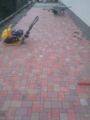 Качественная укладка тротуарной плитки