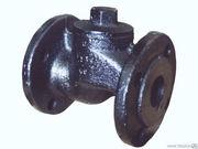 Клапан обратный фланцевый чугунный и стальной