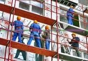 Фасадчик на стройку новых многоэтажек (Польша)