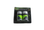L15-900063_01,  Набор насадок для шланга 13 мм (2 шт.),  ,  черный-зел