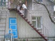 Лестницы стальные:прямые, поворотные, винтовые.