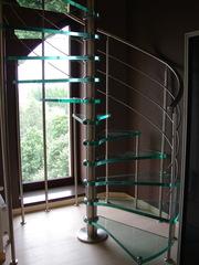 Лестницы маршевые и винтовые