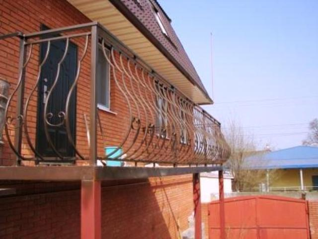 Балконы- конструкции не нагружающие плиту,расширение днепроп.