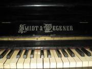 [+]  Продам пианино «Smidt & Pegener» черного цвета пр-во Германия