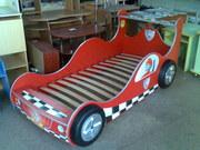 Авто-кровать(детские кровати в виде машины F1)