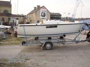 Шведская яхта-швертбот Albin 57 19 футов 1980.